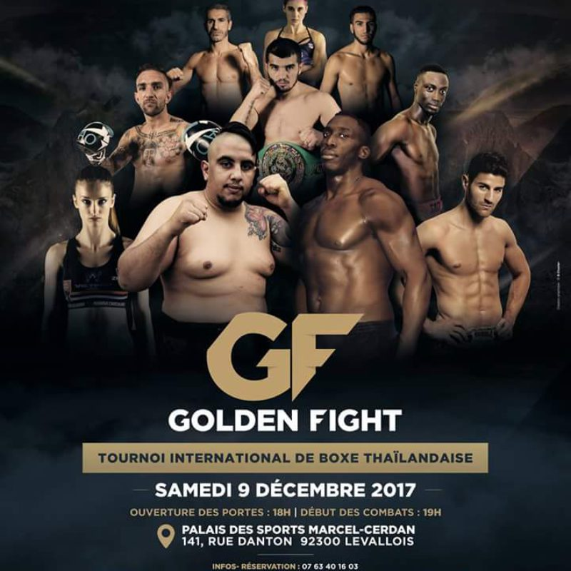 Golden fight Dec 9, 2017