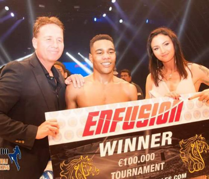 Endy Semeleer wins vs Superbon to become new Enfusion Champion.