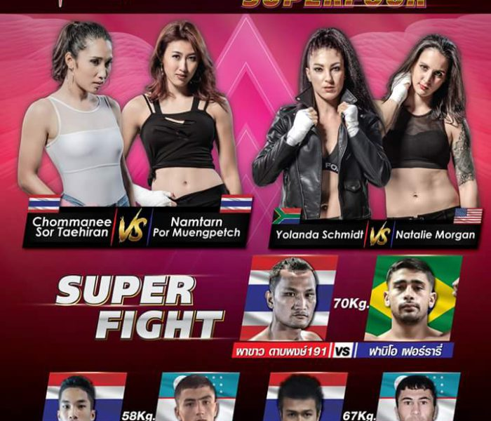 Namtarn vs Chommanee al Muay Thai Angels