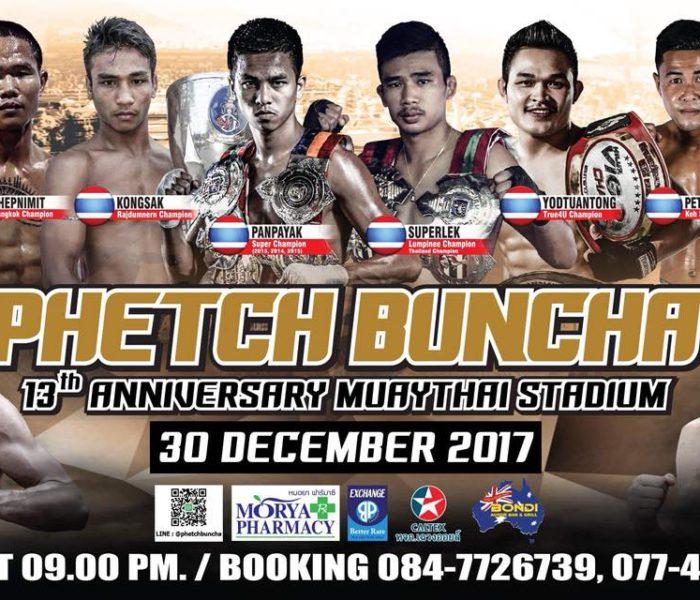 Grande evento a Samui il 30/12 con Panpayak, Superlek, Kongsak e Mathias