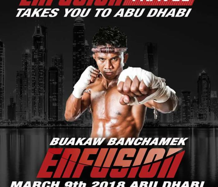 Buakaw Benchamek sarà presto protagonista ad Enfusion