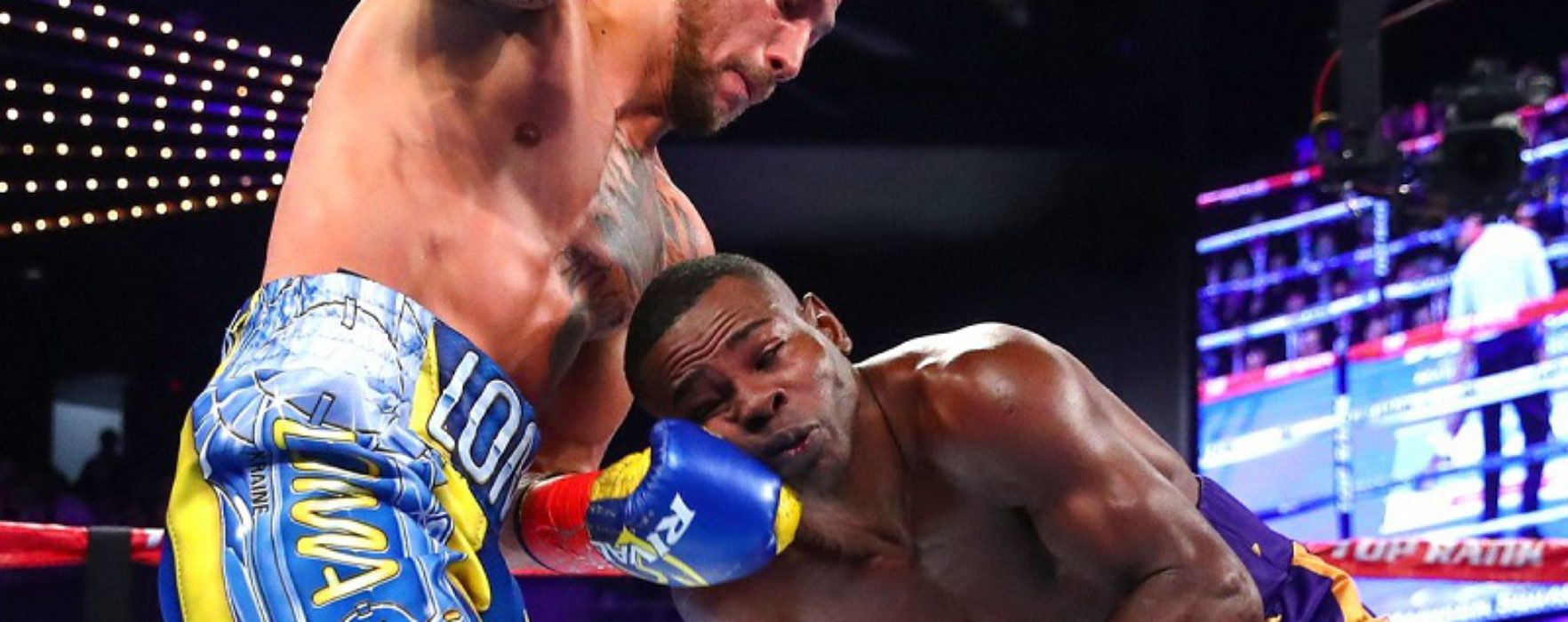 """No mas"": Rigondeaux quit in 6th facing Lomachenko's matrix (Highlights)"