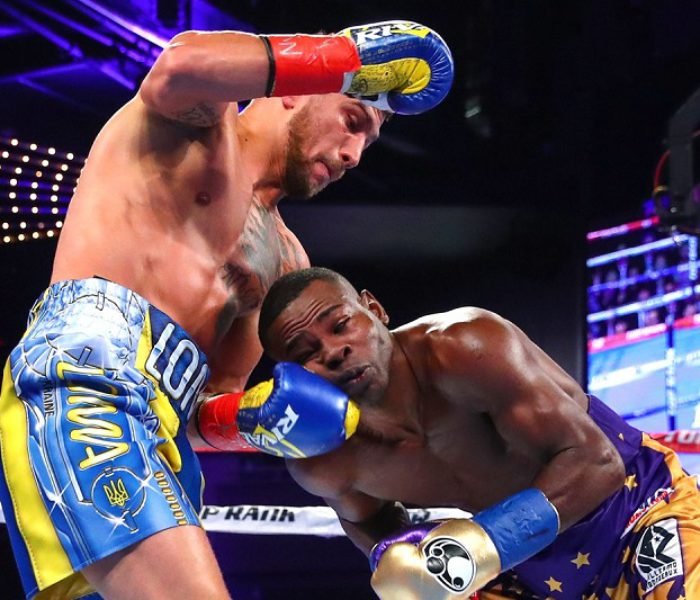 "(English) ""No mas"": Rigondeaux quit in 6th facing Lomachenko's matrix (Highlights)"