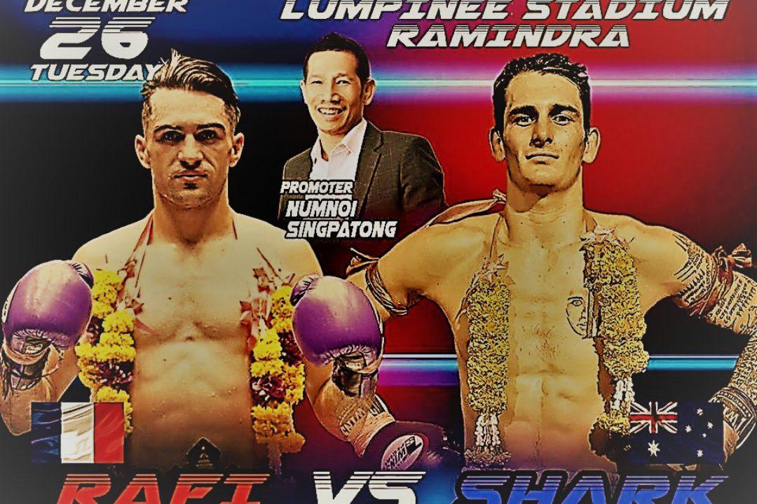 (English) Welterweight Lumpini belt becomes a 'farang' job