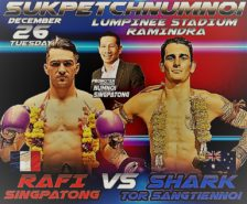 rafi vs chadd Lumpinee belt is a farang job on 2017