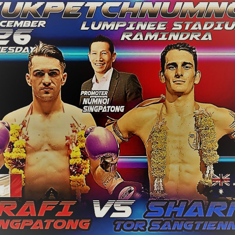 Welterweight Lumpini belt becomes a 'farang' job
