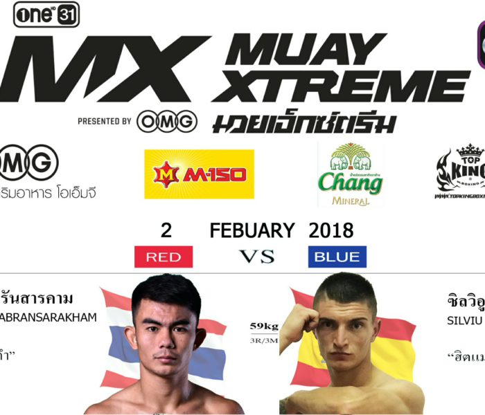 Silviu Vitez at MX in Bangkok on 2 feb 2018