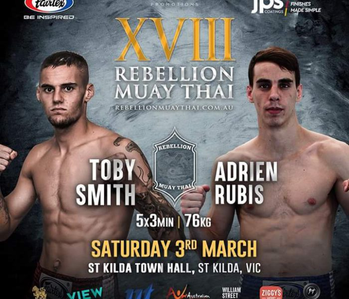 Rebellion 18: Toby Smith vs. Adrien Rubis