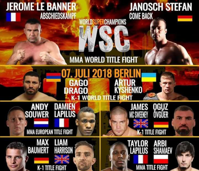 (English) WSC: Le Banner, Souwer, Kyshenko, Drago, Harrison