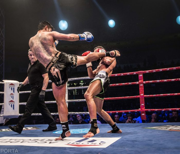 Results of Thai Boxe Mania 2018