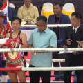 Thananchanok winner of ladies tournament in Ayutthaya