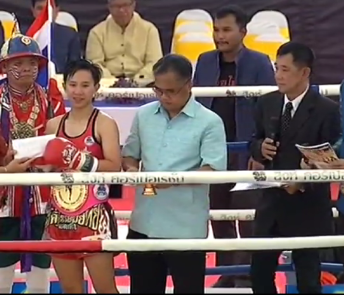 (English) Thananchanok winner of female tournament in Ayutthaya