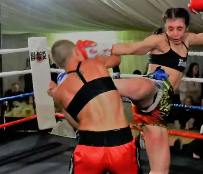Video: Iman Barlow vs Jleana Valentino