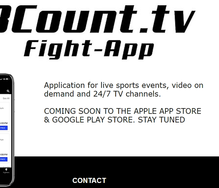 (English) Revolutionary new app 8count.tv to be launched soon
