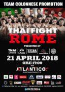 thai fight roma 21 aprile 2017